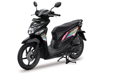Honda BeAT Pop Tone Black