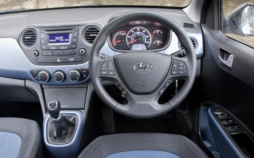 Interior Hyundai Grand i10