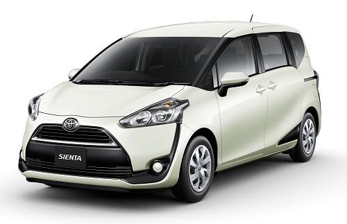 Toyota Sienta White Pearl