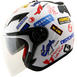 Helm NK Gladiator Sticker