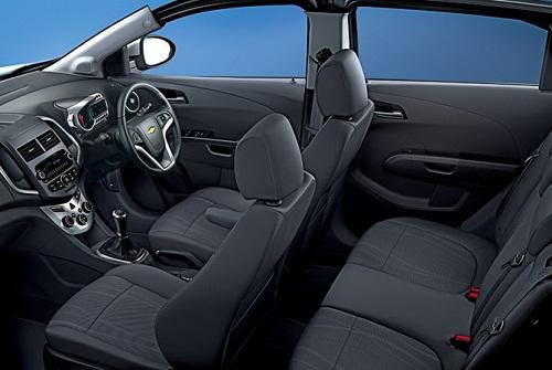 Interior Chevrolet Aveo