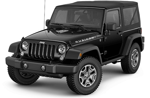 Jeep Rubicon Warna Black