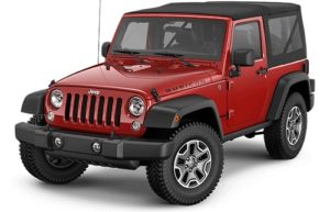Jeep Rubicon Warna Merah