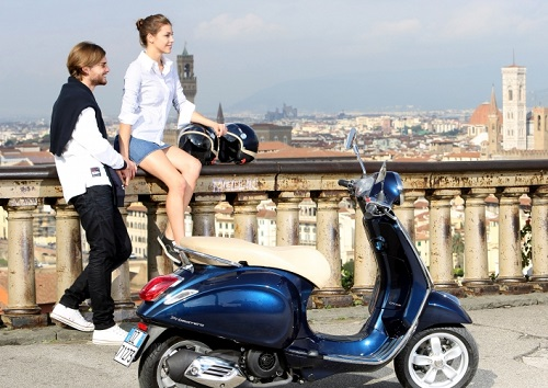 Review Vespa Primavera 150