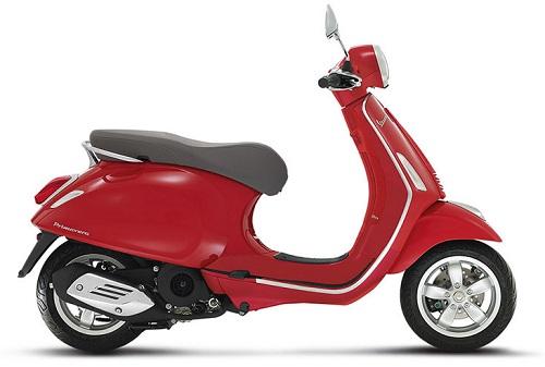 Vespa Primavera 150 Rosso Dragon