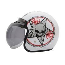 WTO Helmet Retro Bogo Skull