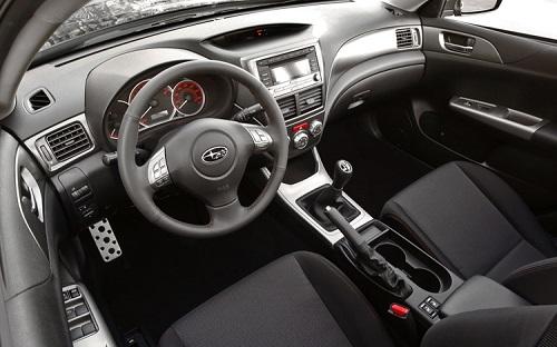 Interior Subaru New Impreza