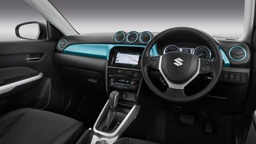 Interior Suzuki Vitara Brezza