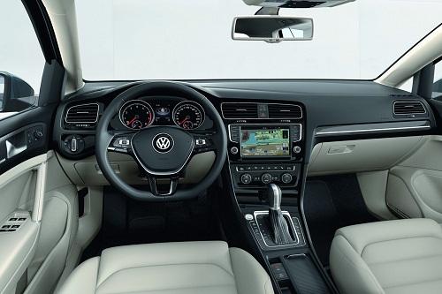 Interior Volkswagen Golft
