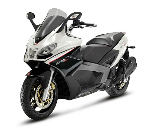 Review Aprilia SRV 850