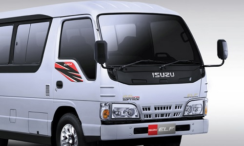 Review Isuzu ELF NHR 55 MicroBus