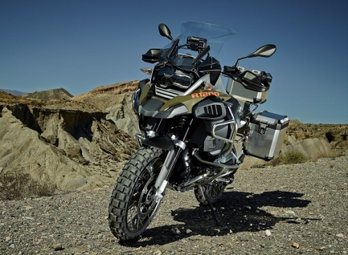 Tampak Depan BMW R 1200 GS Adventure