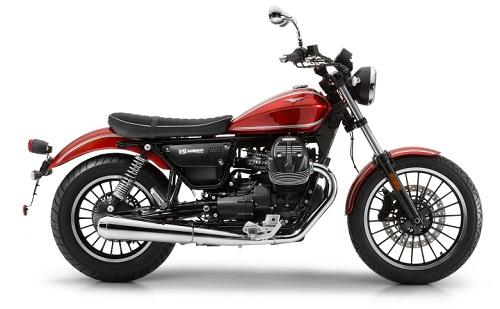 Desain Moto Guzzi V9 Roamer Rosso Rubino