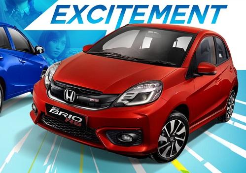 Harga Honda Brio RS Riau