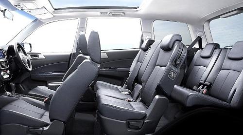 Interior Subaru Exiga