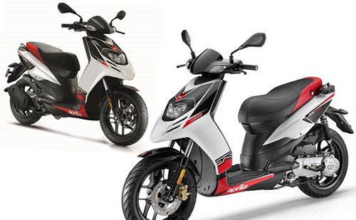 Review Motor Aprilia SR Motard 50