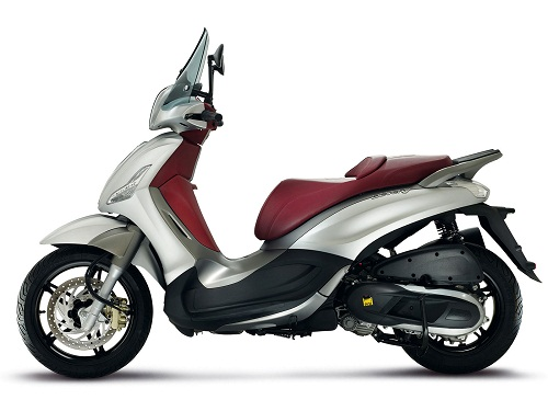 Review Piaggio Bevrly Sport Touring