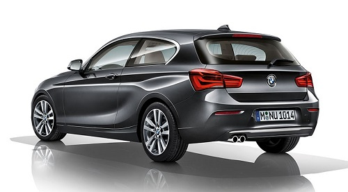 BMW Seri 1 Facelift
