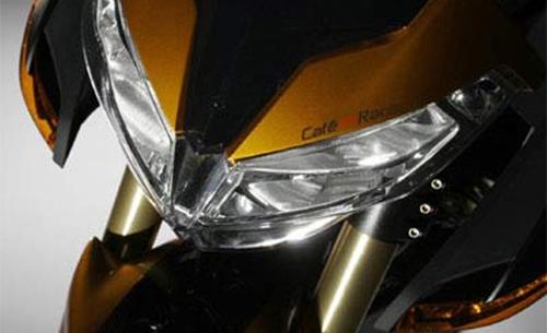 Desain Headlamp Benelli TNT 1130 Cafe Racer