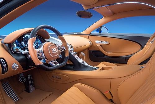 Interior Bugatti Chiron