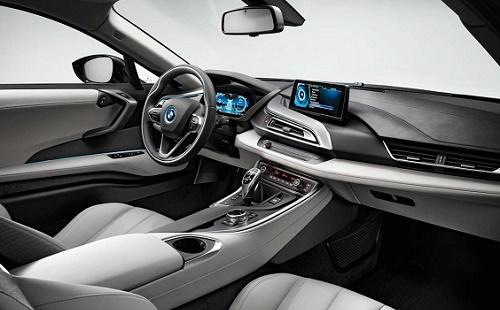 Fitur Mobil BMW i8