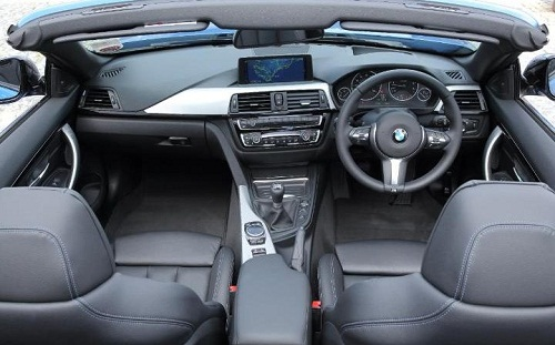 Interior BMW Seri 4