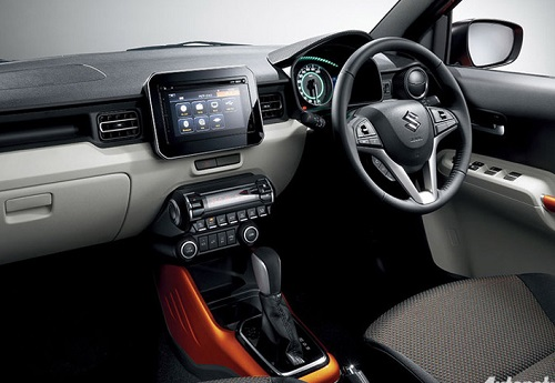 Interior Suzuki Ignis