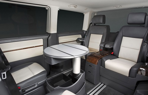Interior Volkswagen Caravelle Business