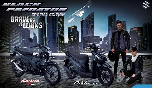 Harga Suzuki Address Black Predator