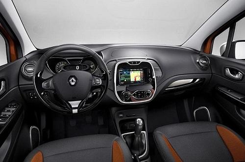 Interior Renault Captur