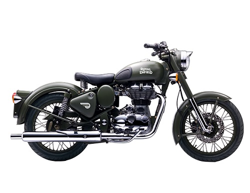 Royal Enfield Clasic Battle Green