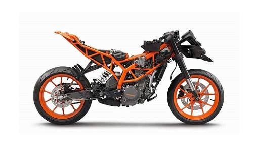 Sistem Rangka Motor KTM RC 125