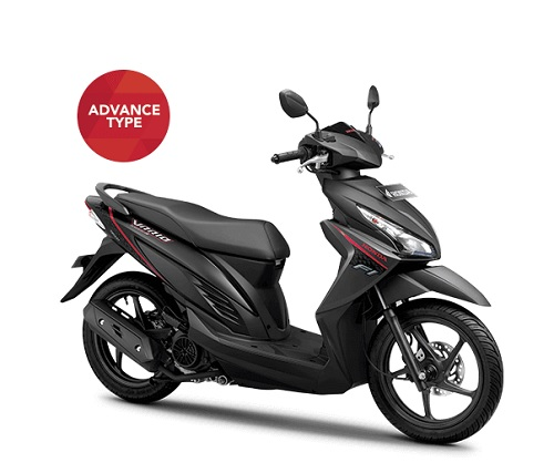 Honda Vario 110 eSP Black Advance