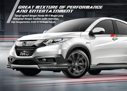 Fitur Honda HR-V Mugen