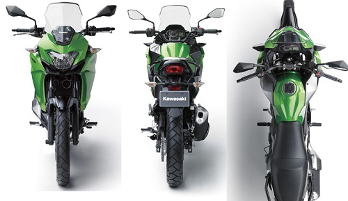 Desain Kawasaki Versys-X 250 City