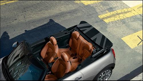 Interior Mini Cooper S Cabrio
