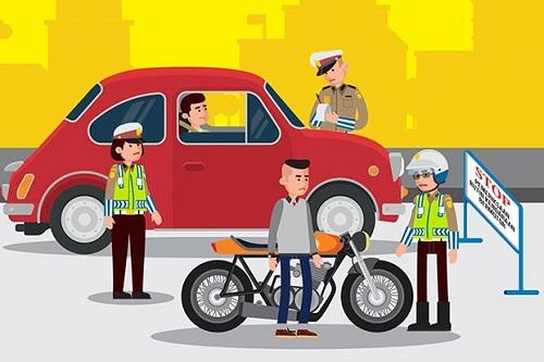 Jadwal Razia Polisi Kendaraan Bermotor