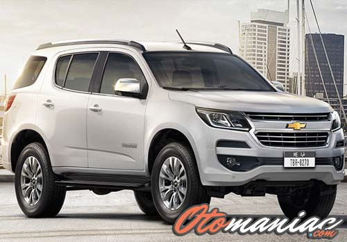 Spesifikasi Dan Chevrolet Trailblazer