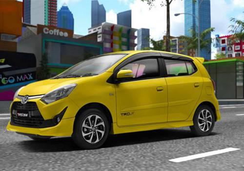 Spesifikasi dan Harga New Toyota Agya Facelift 2017