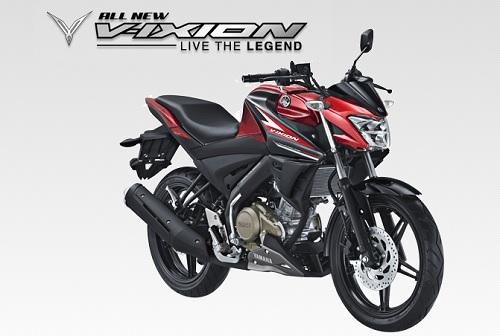 Spesifikasi dan Harga Yamaha All New Vixion