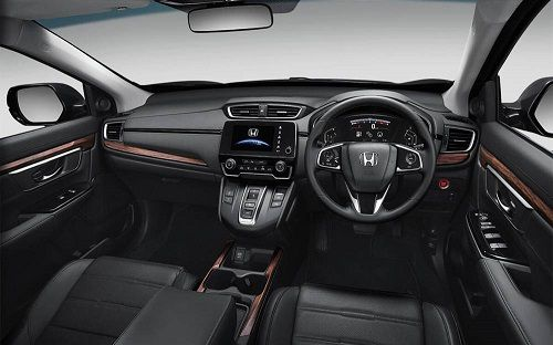 Interior All New Honda CR-V Turbo