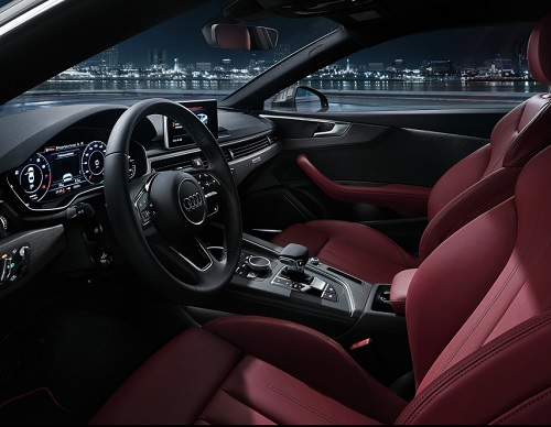 Interior Audi A5 Coupe