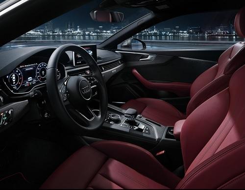 Interior Audi A5 Coupe