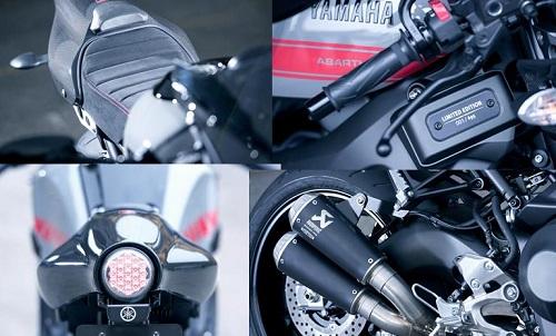 Fitur Yamaha XSR 900 Abarth