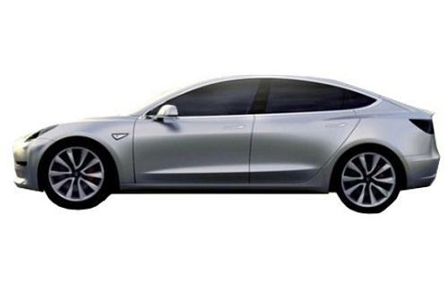 Desain Tesla Model 3 2017