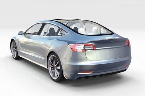 Harga Tesla Model 3 2017