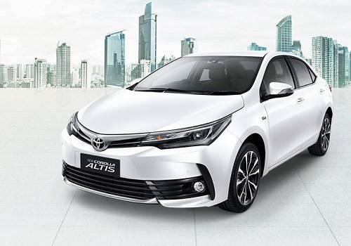Harga Toyota New Corolla Altis