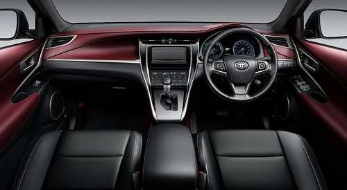 Interior New Toyota Harrier Facelift