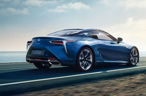 Review Lexus LC 500