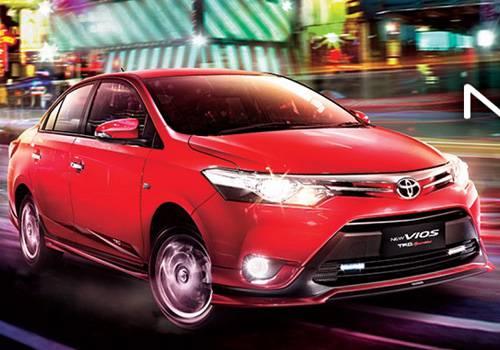 Spesifikasi dan Harga Toyota New Vios